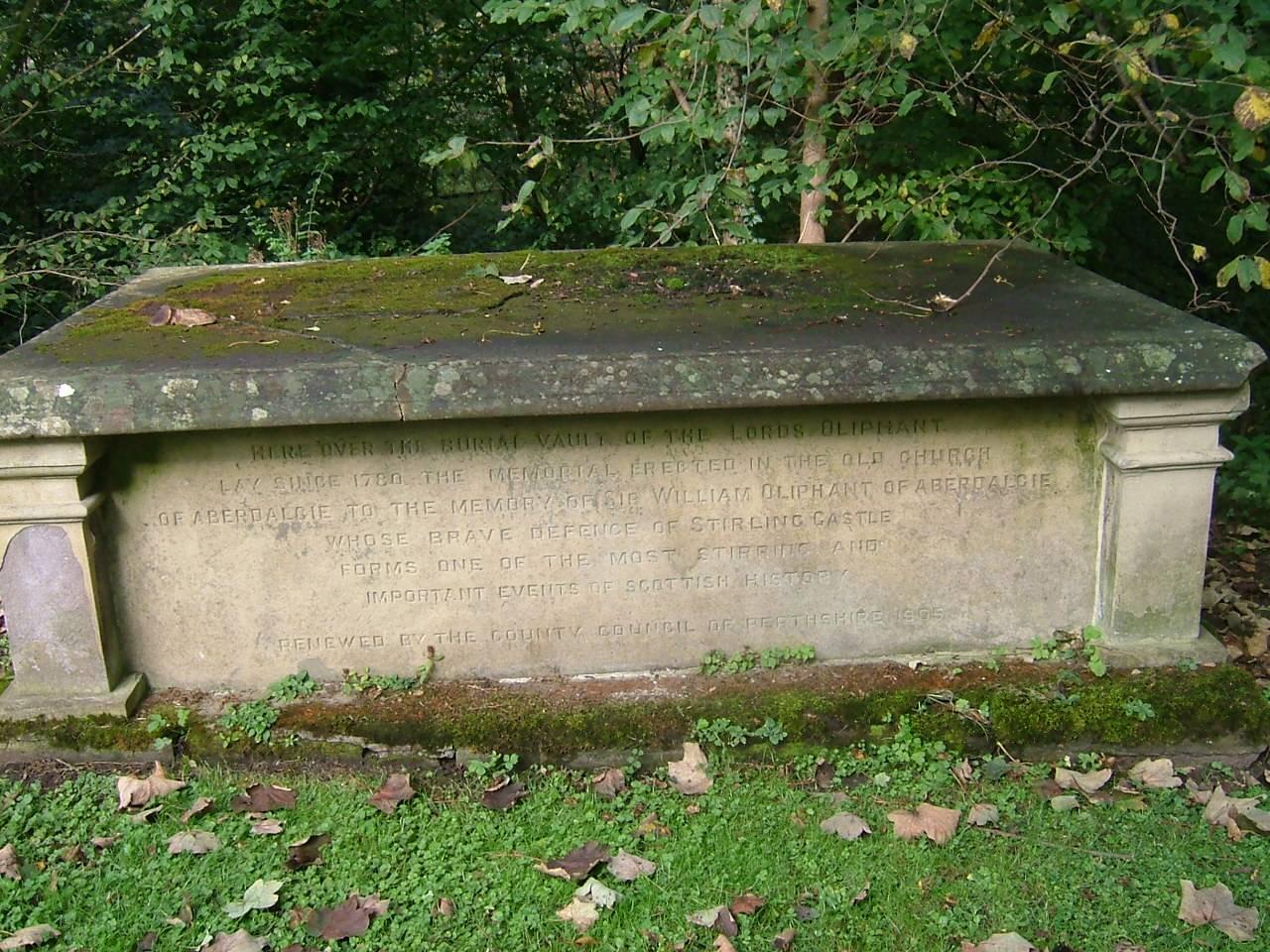 Oliphant tomb