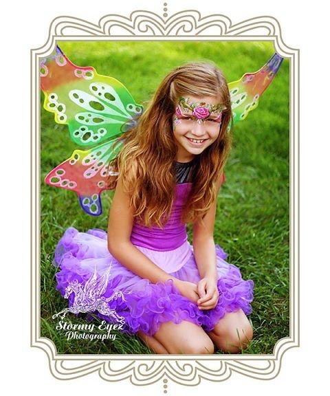 Fairy Princess Face Painting