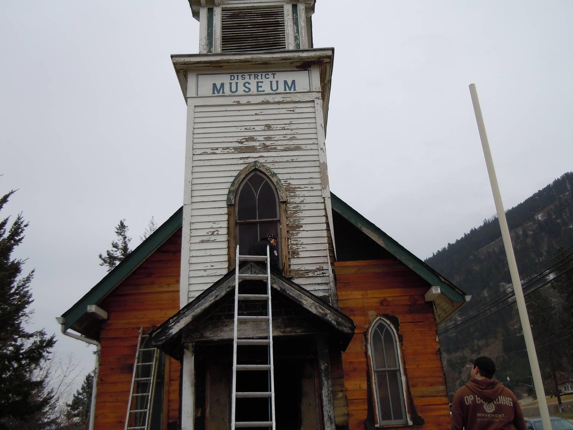 Post fire July 2011
