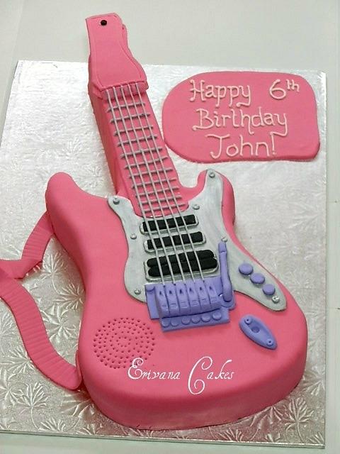 Guitar Cake 2