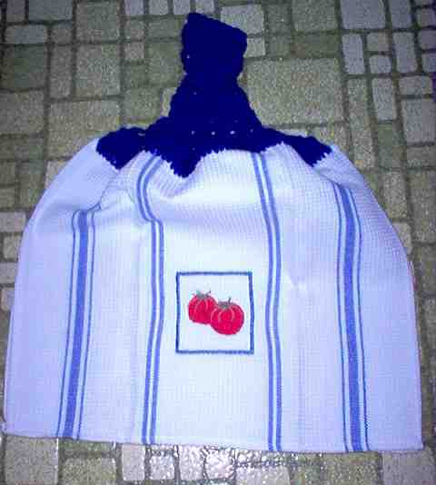 Tomatoes Full Kitchen Grill Towel