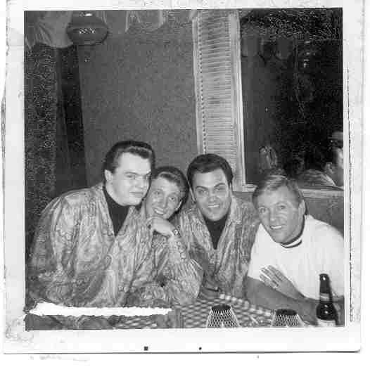 With the late Bobby Hatfield.