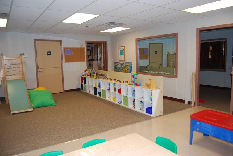 multi-age entrance and play space