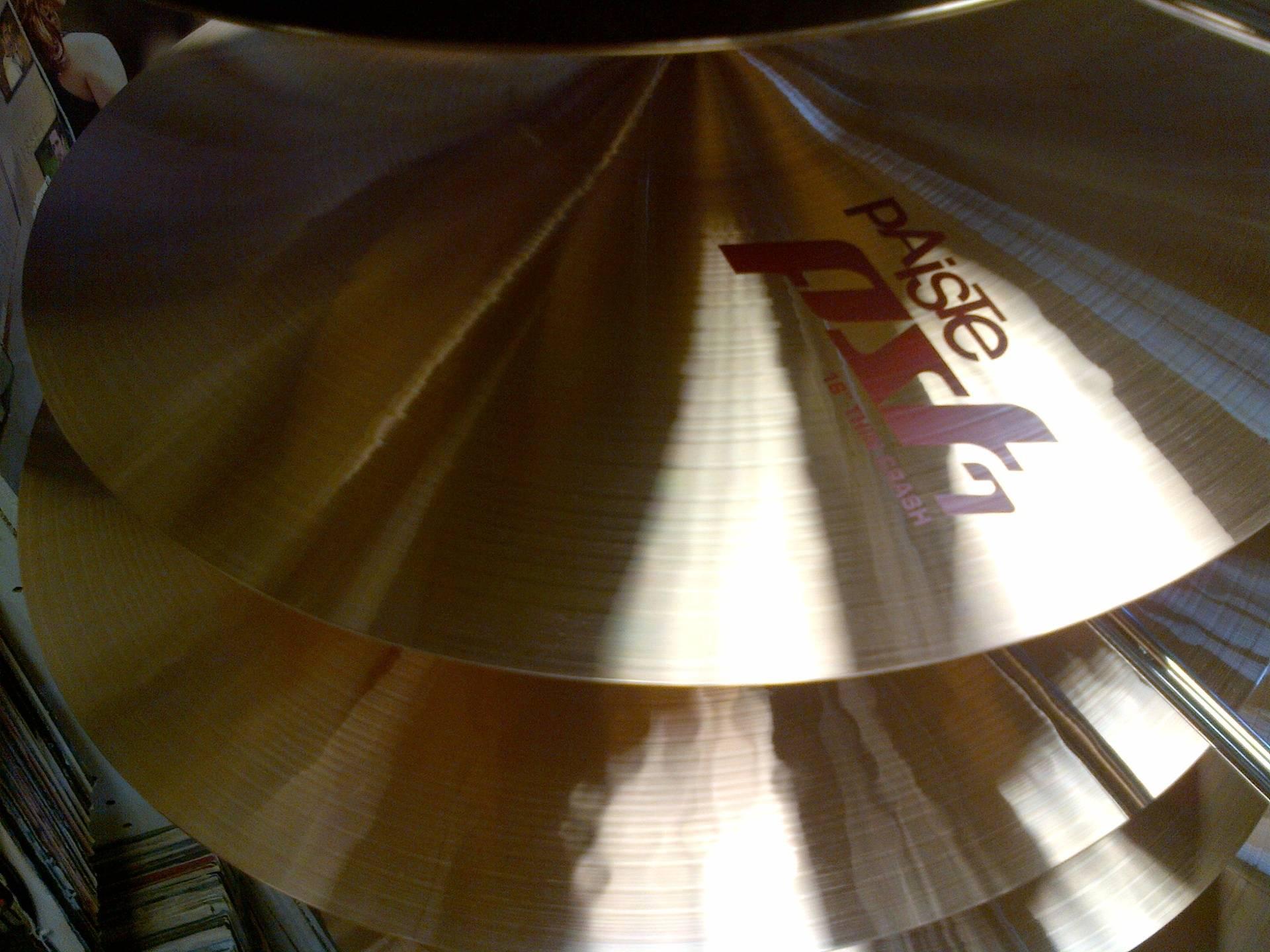 New Paiste7 Cymbals