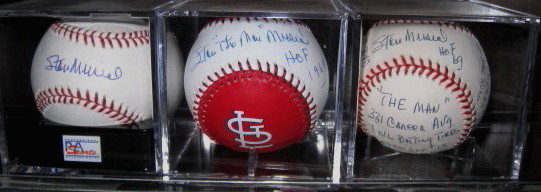 Autographed Stan Musial Baseballs