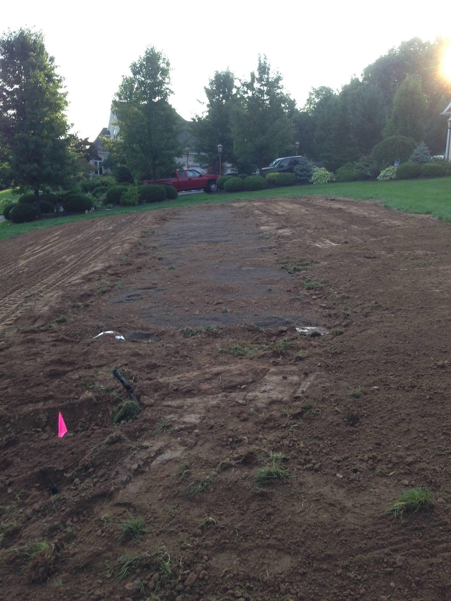 Rough Grade Ready For Topsoil