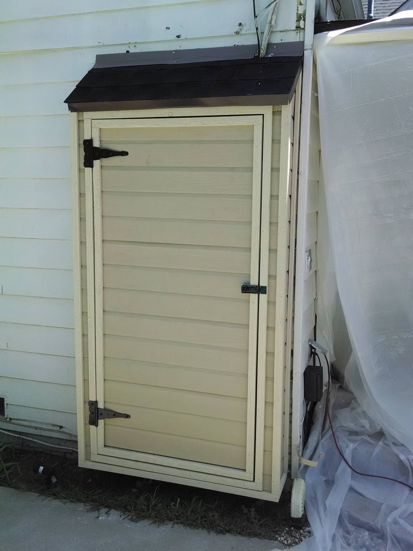 Mini Shed/Electrical panel cover