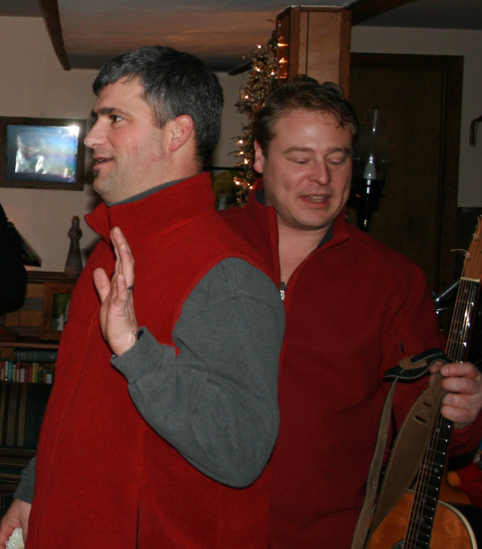 Chris and Joe