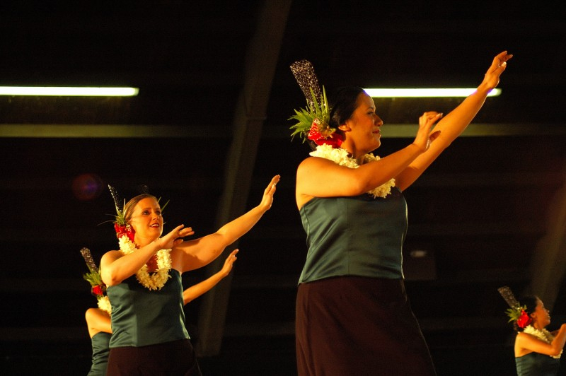 Front and center in Hilo at Merrie Monarch competition
