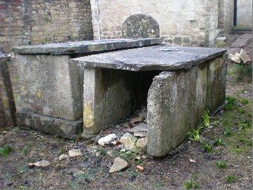 The tomb of Joseph Sigmond