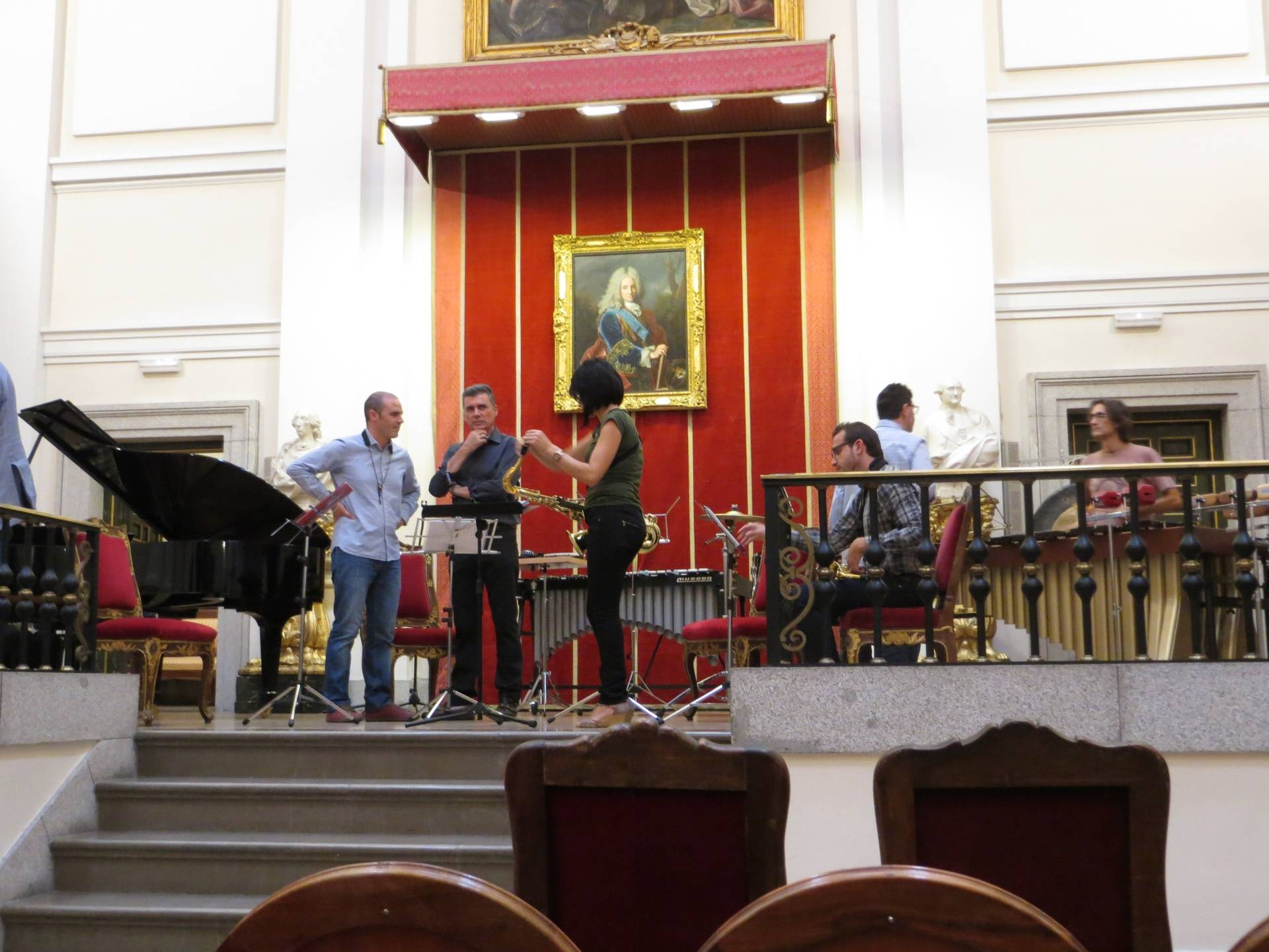 Nature's Soliloquy Rehearsal Madrid October 2014