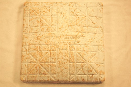 April 12, 2013 Game-Used 2nd Base-Stan The Man Musial Day