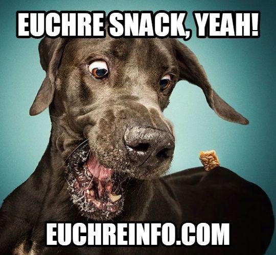 Euchre snack, yeah!