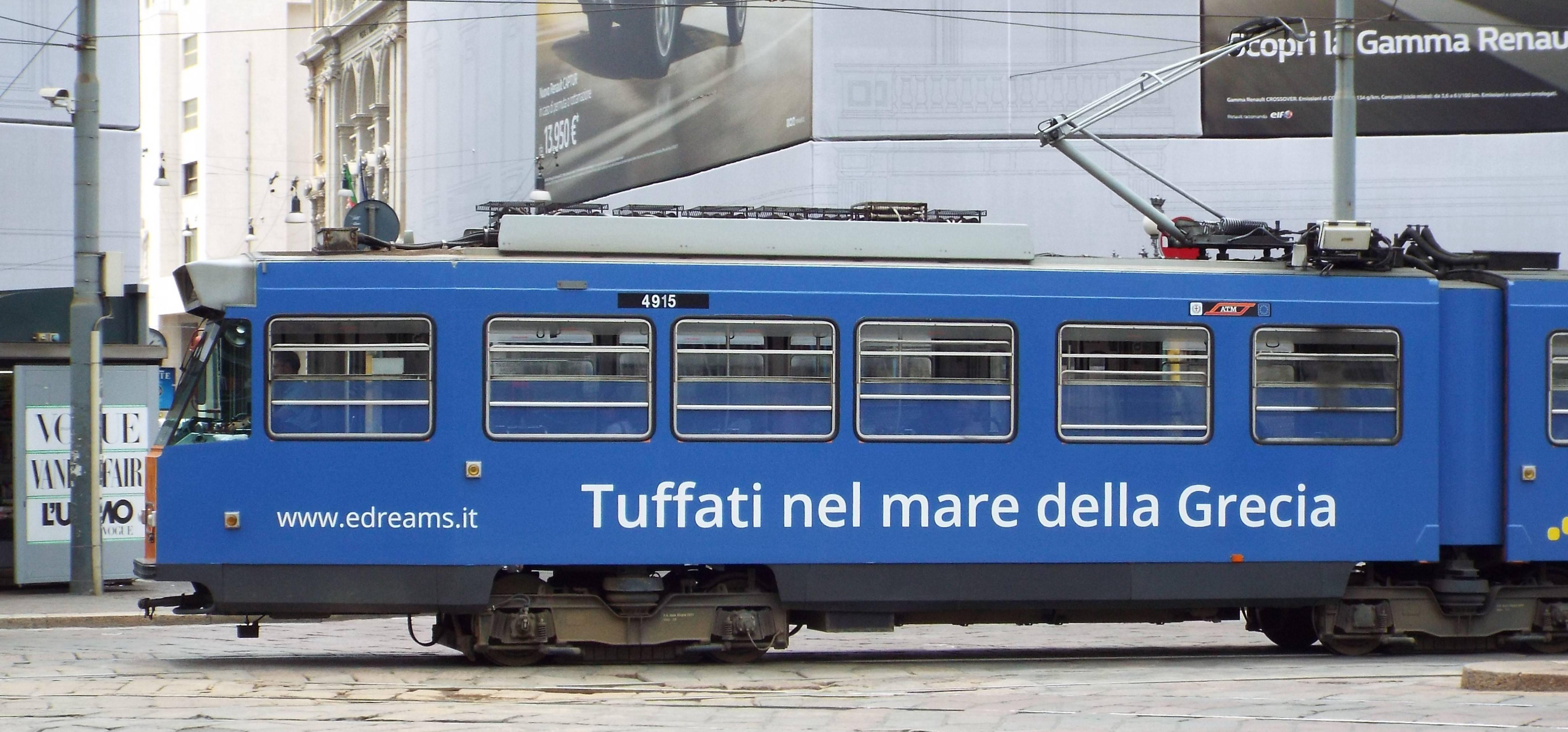 A Fiat Series 4900 Tram.