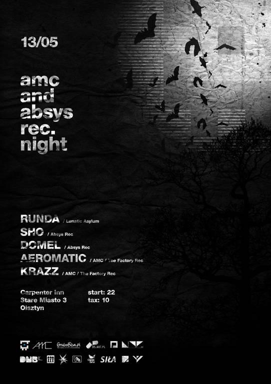 2011.05.13 - AMC & Absys Records Night - Carpenter Inn @ Olsztyn