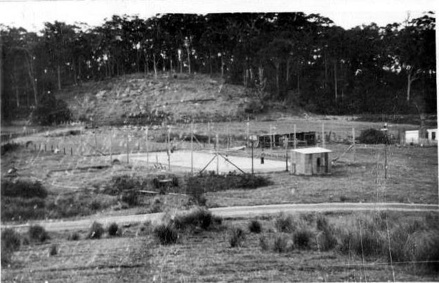 Tennis Court 1920s