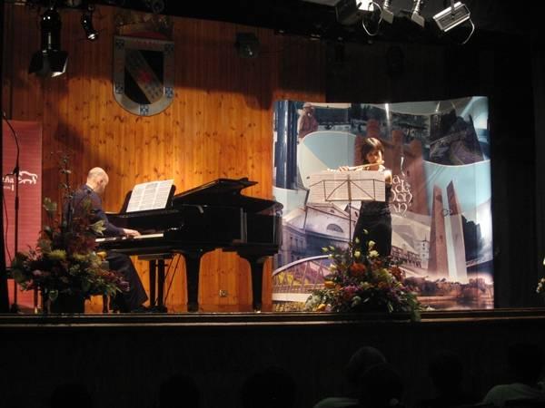 Concierto de profesores inaugural (Luis y Tatiana)