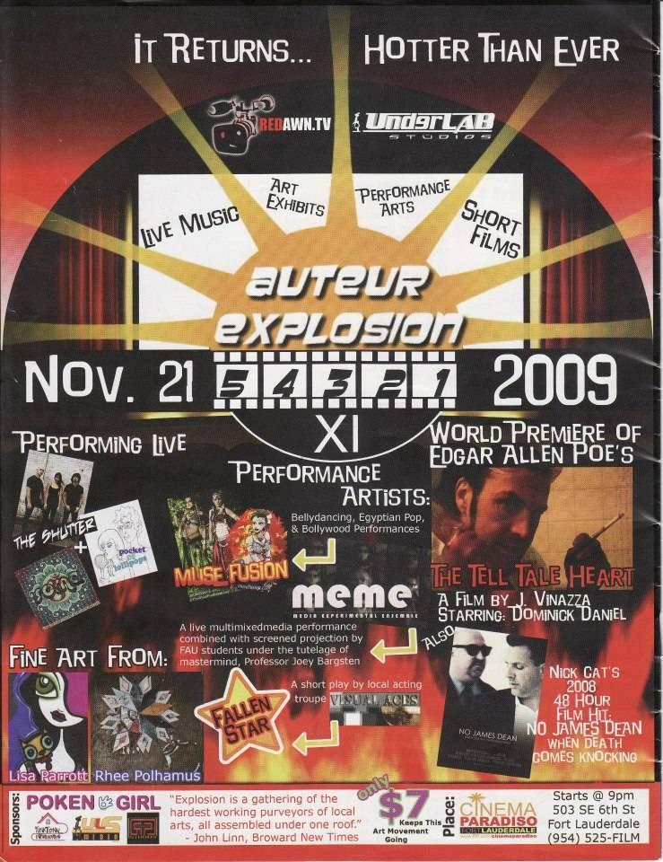 Auteur Explosion 2009