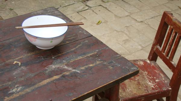 Chen Village - simple table & chair