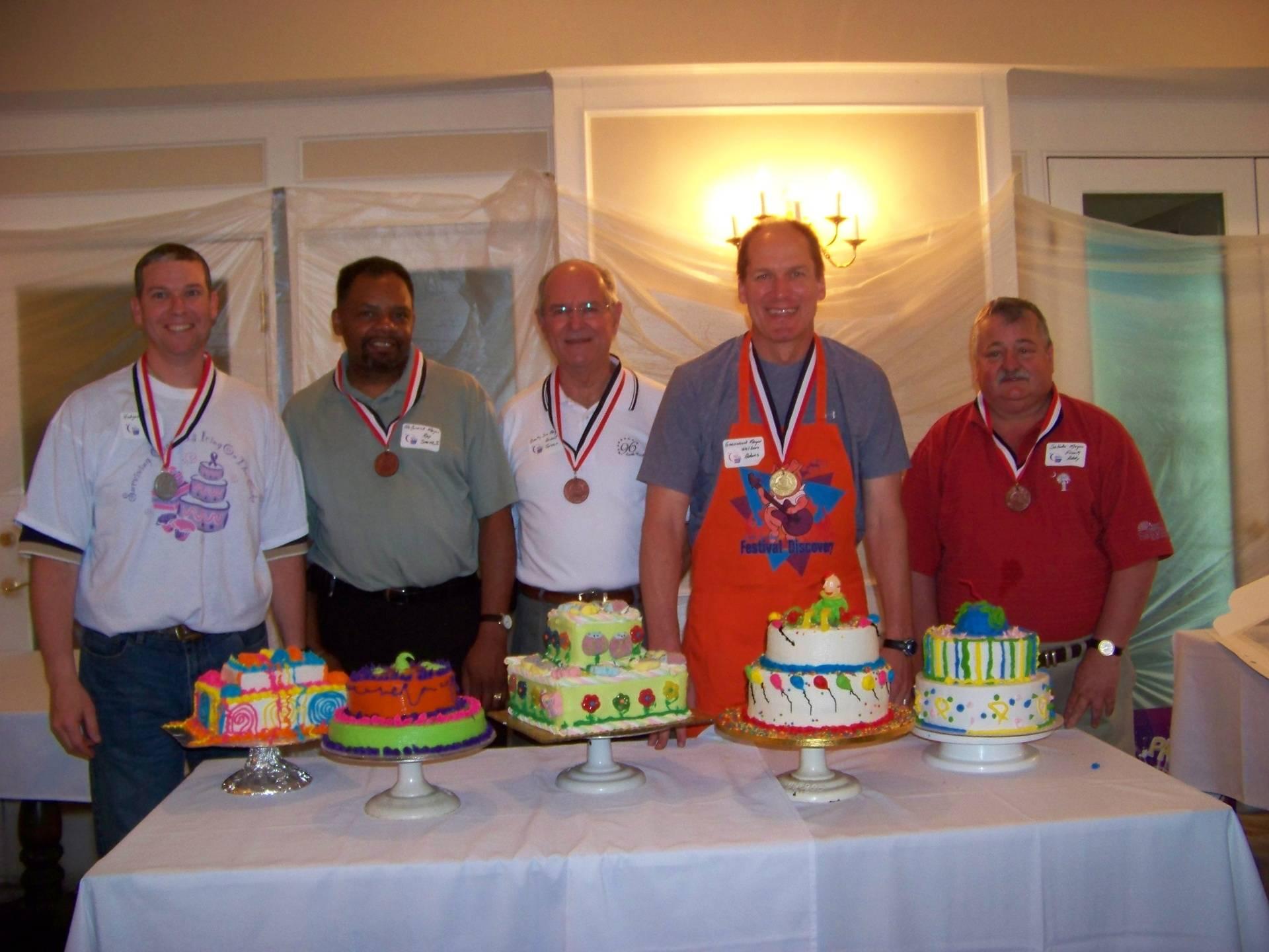 Cake Decorating Winners