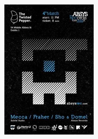 2011.03.04 - Absys Records Tour 2011 LTD - Twisted Pepper - Dublin