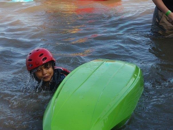 Wet exit speed champion!