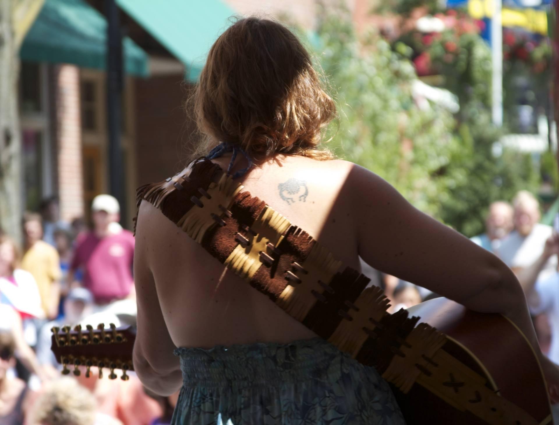 Arts Fest Guitar Strap