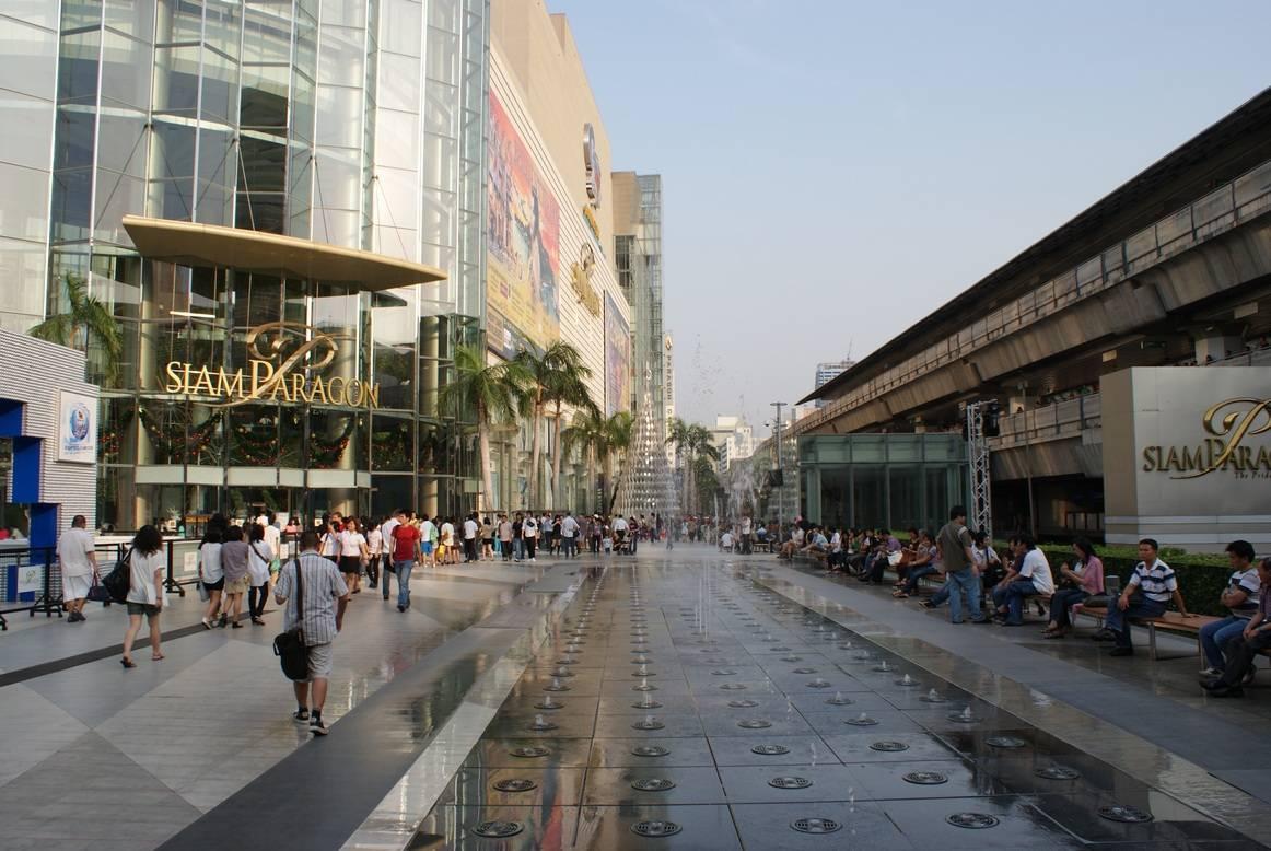 Bangkok mega shopping complexes 1