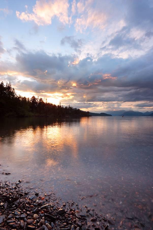 Cascade Pennisula on Harrison Lake