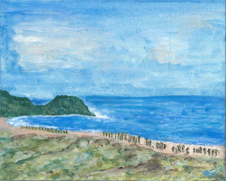 Cala de Ulloa as seen from The Palapa Guaycura Todos Santos
