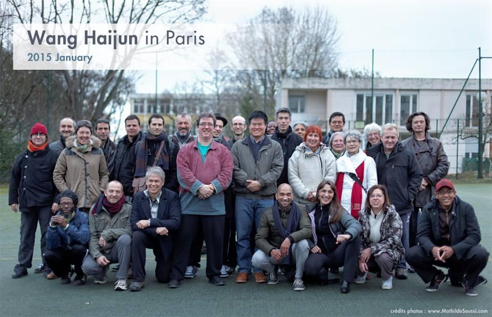 Training with Master Wang Hai Jun in Paris  January 2015