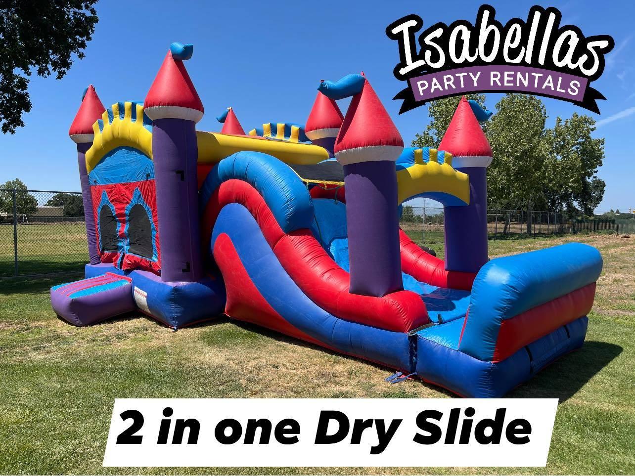 2 in one Dry slide