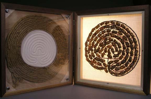 labyrinth box open