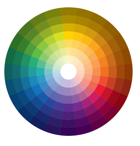 Color Wheel of 24 elders