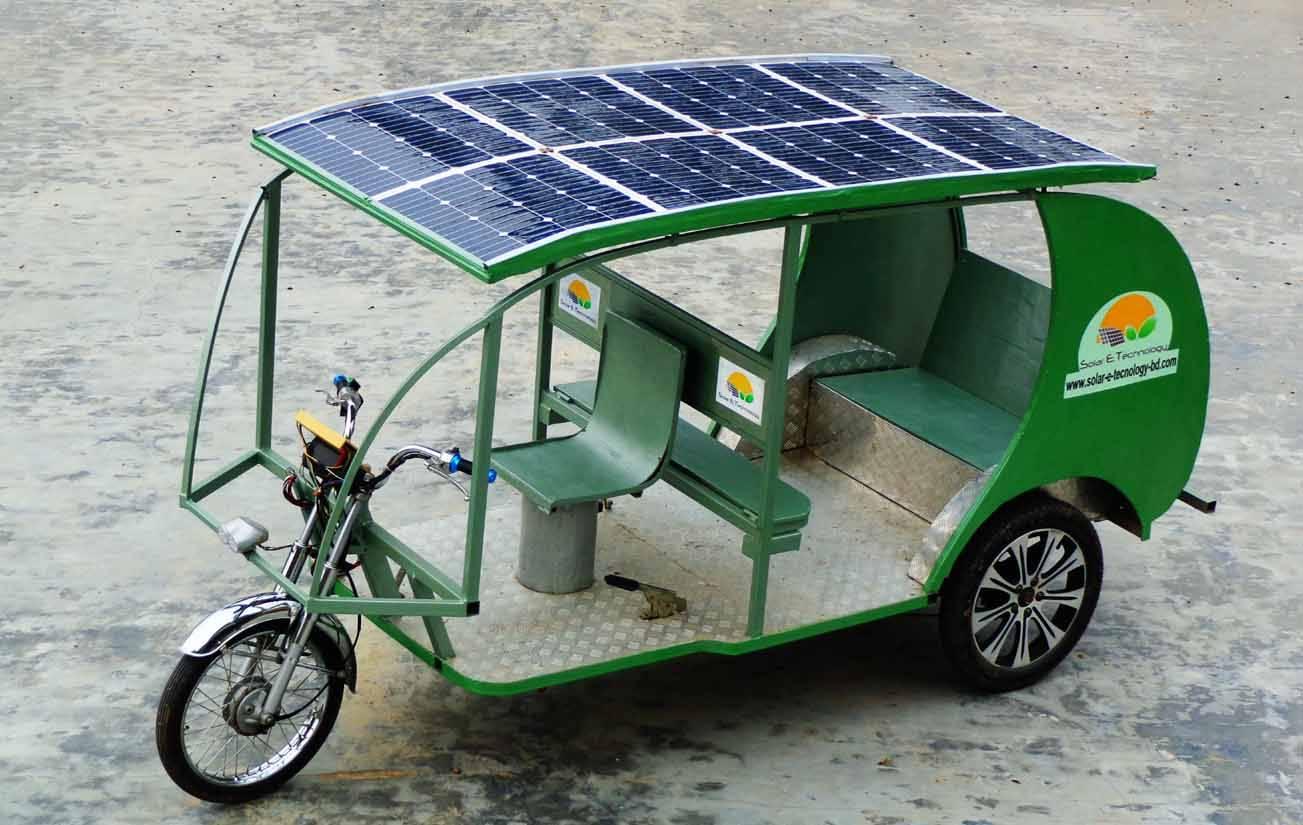 Multi-gear Solar vehicle