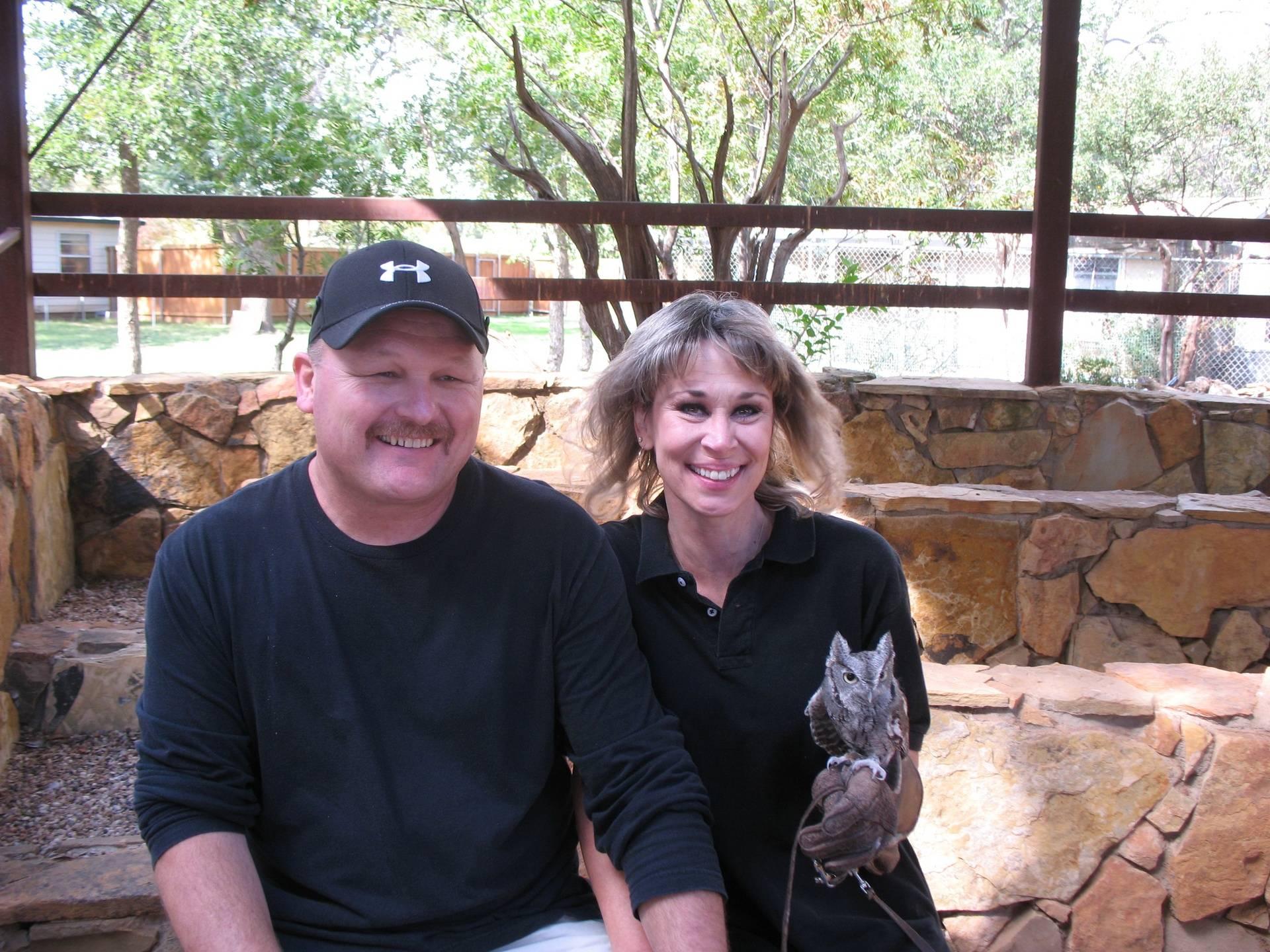 Keystone Donors Jody and Cindy Burkes