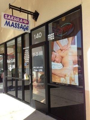 Sakura Massage Spa, 2010 Club Center Dr, Suite 140, Sacramento, California, 95835, U.S.A.