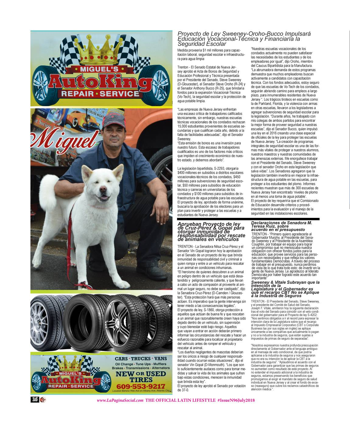 17 The Society Page en Espanol Issue N96 July 2018