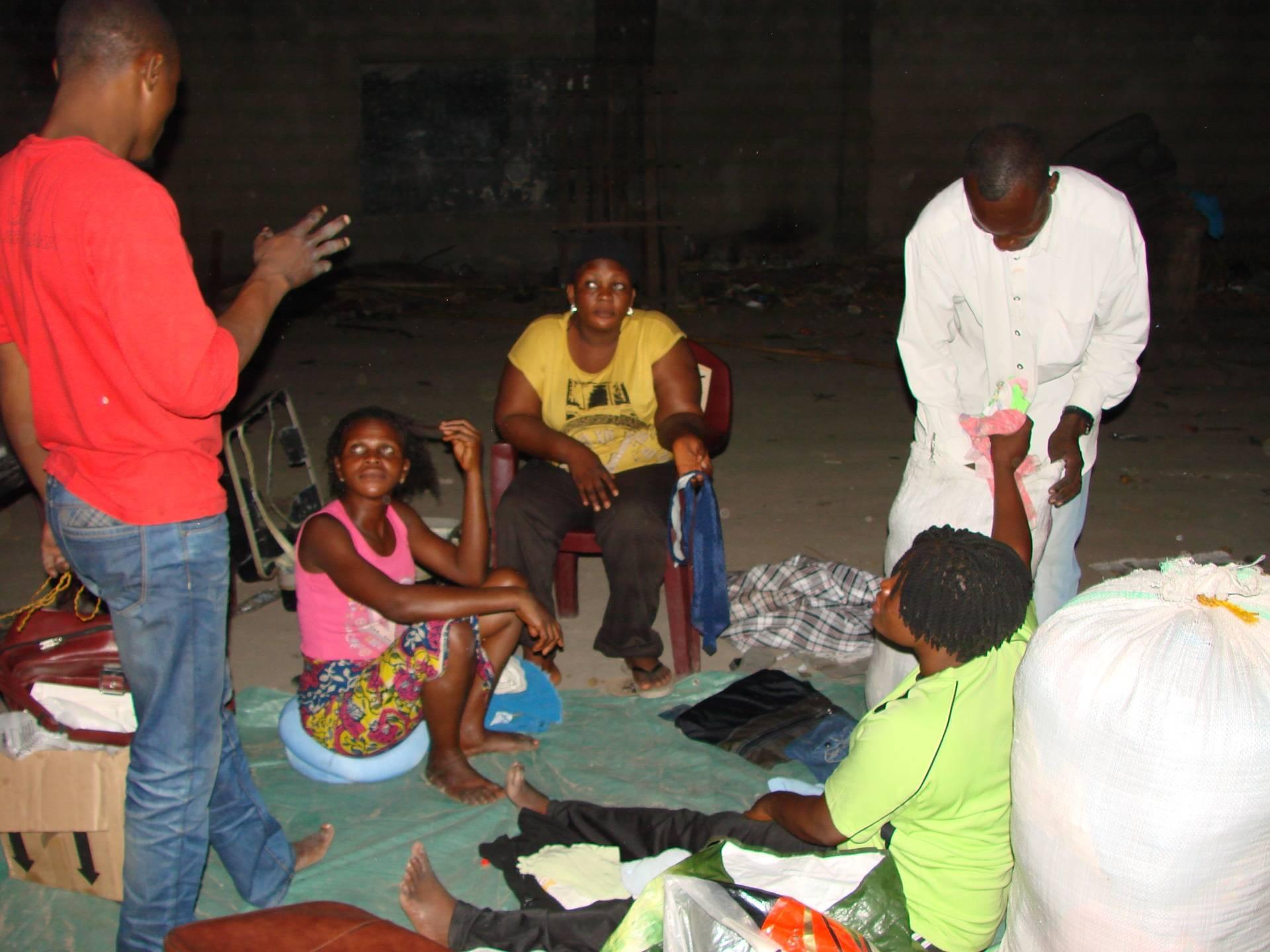Distribution de dons 15