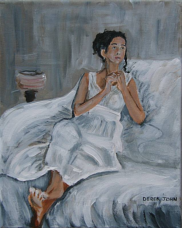 The Girl in White (after Peploe)