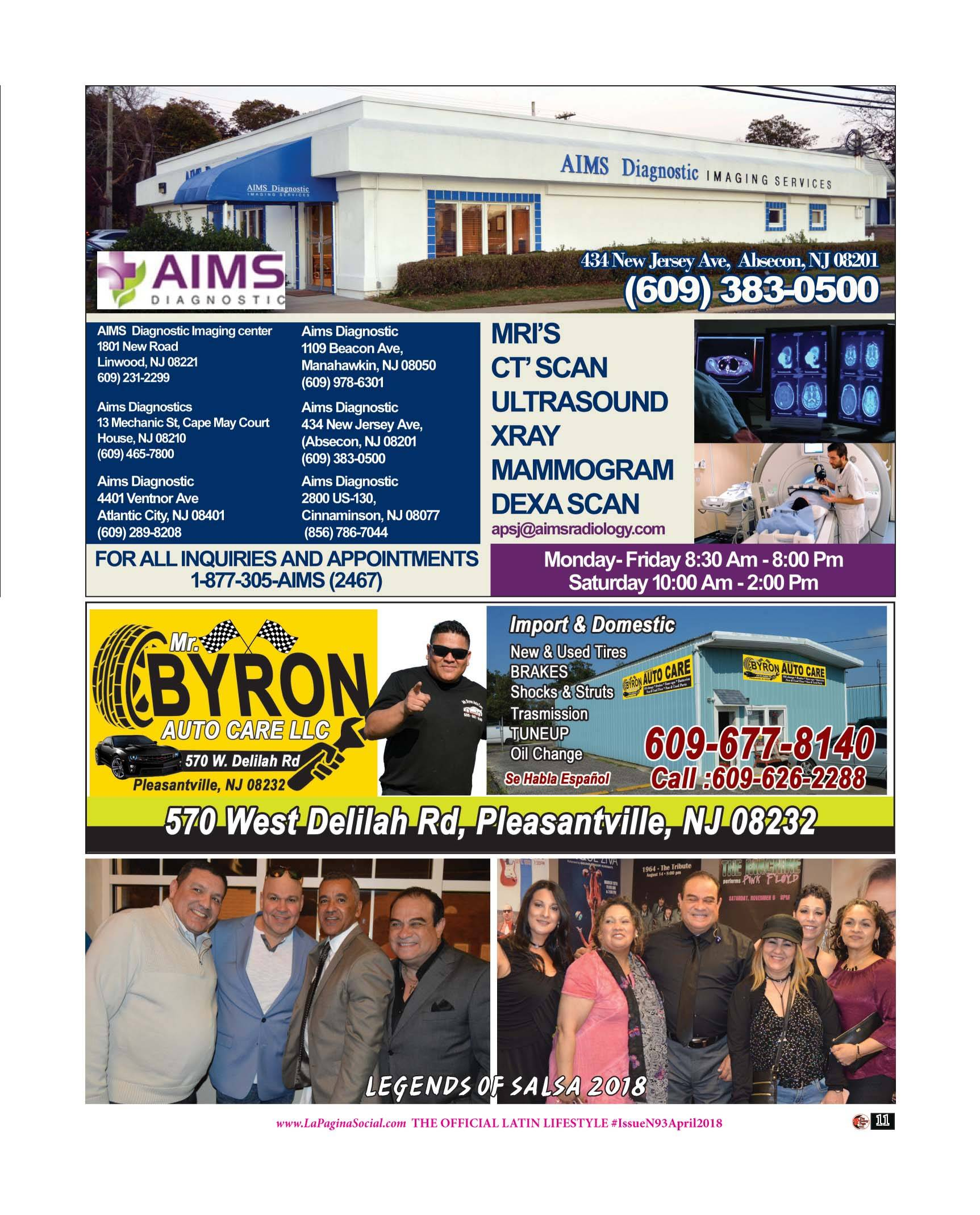 Aims Diagnostic , Mr Byron Auto Care
