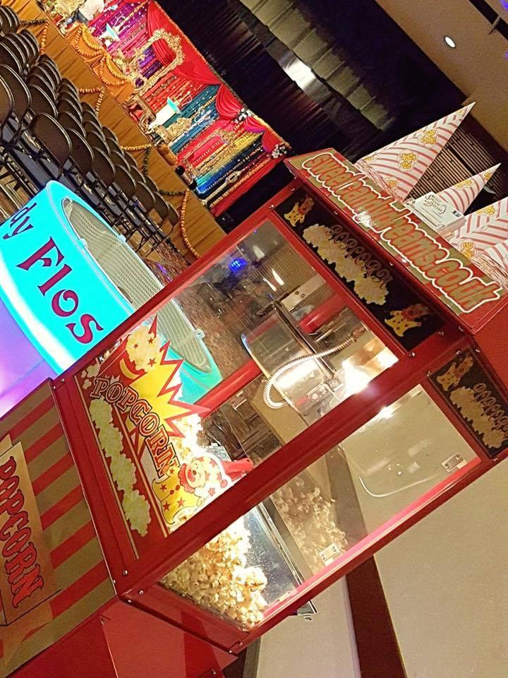 Popcorn machine hire Pudsey Leeds