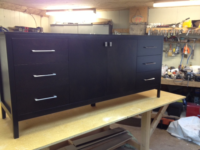 Maple sideboard