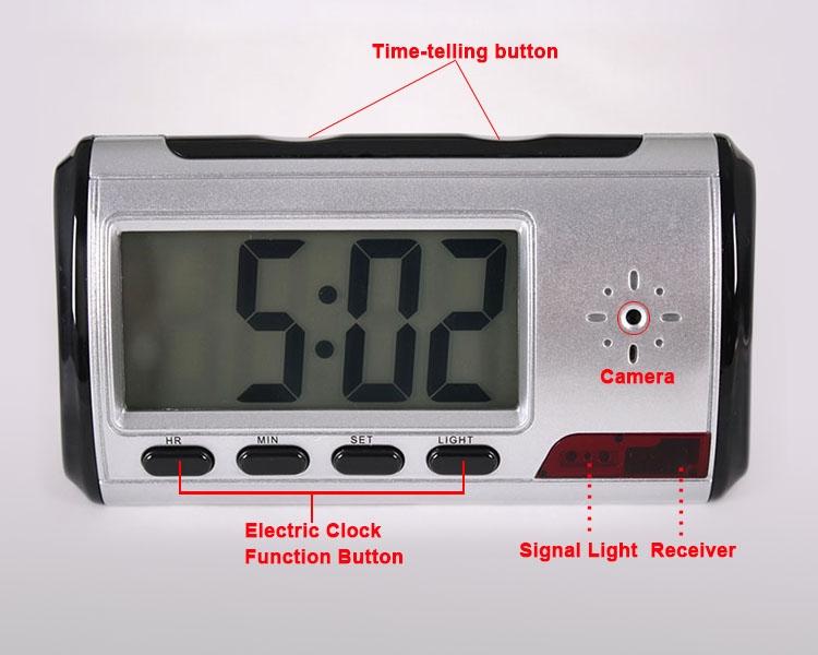 Spy Clock Digital