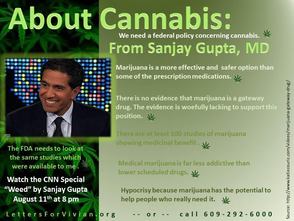 Sanjay Gupta, MD Cannabis Facts