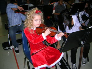 School concert