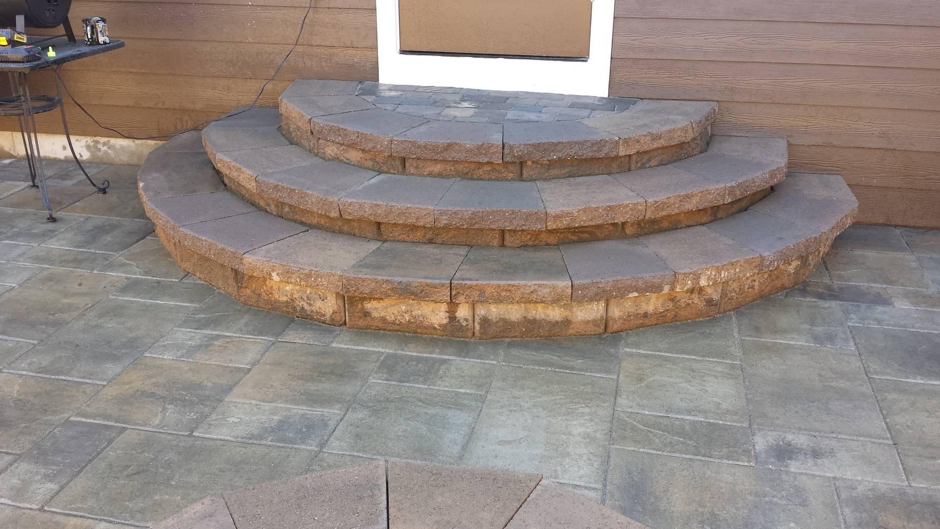 Paver Steps, Forest Grove