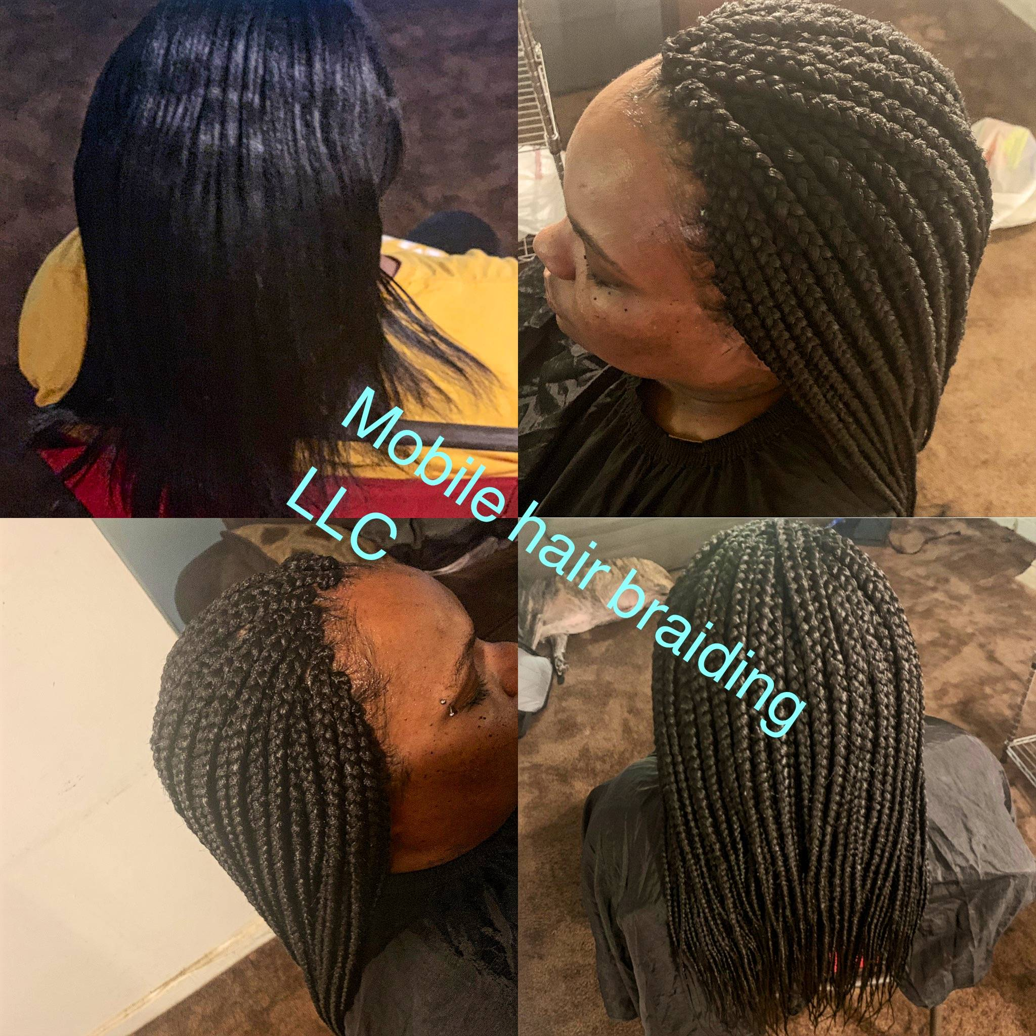 Box braids completed in temple hills, MD