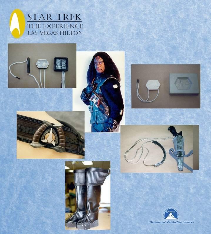"""Klingon, """"Star Trek:  The Experience"""" at the Las Vegas Hilton"""