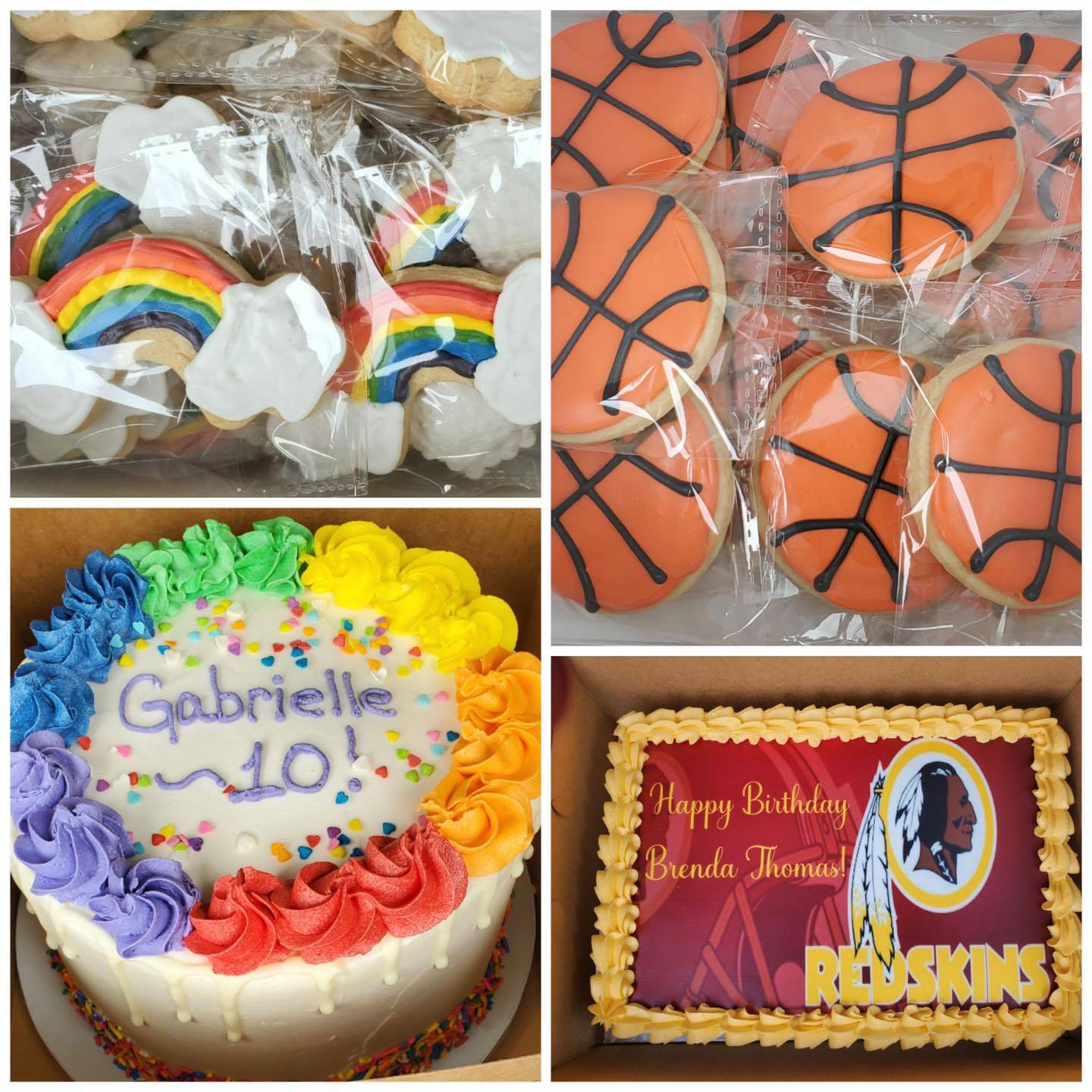 Sports Cookies and Cakes